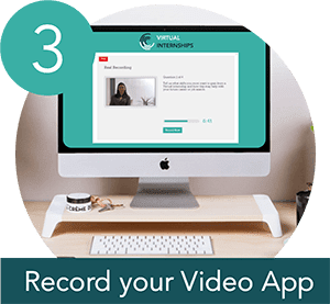 Record your video application
