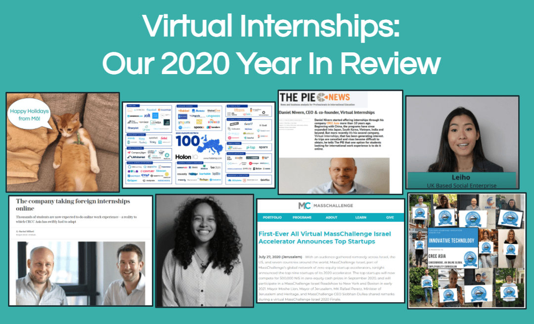 Virtual Internships: Our 2020 Year In Review